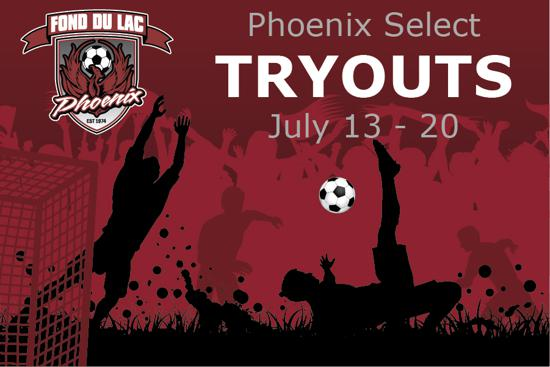 2020 Select League Tryouts